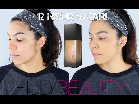 HUDA BEAUTY #FauxFilter Foundation First Impression Review (Tres Leches & Butter Pecan)