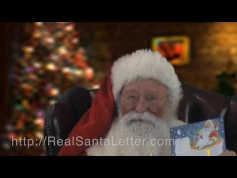 letter from father christmas | Santa