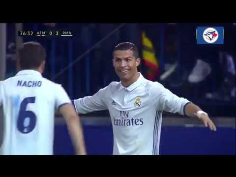 Atletico Madrid-0 vs 3-Real Madrid I (19/11/2016) I Ronaldo's hat trick I All Goals Highlights I
