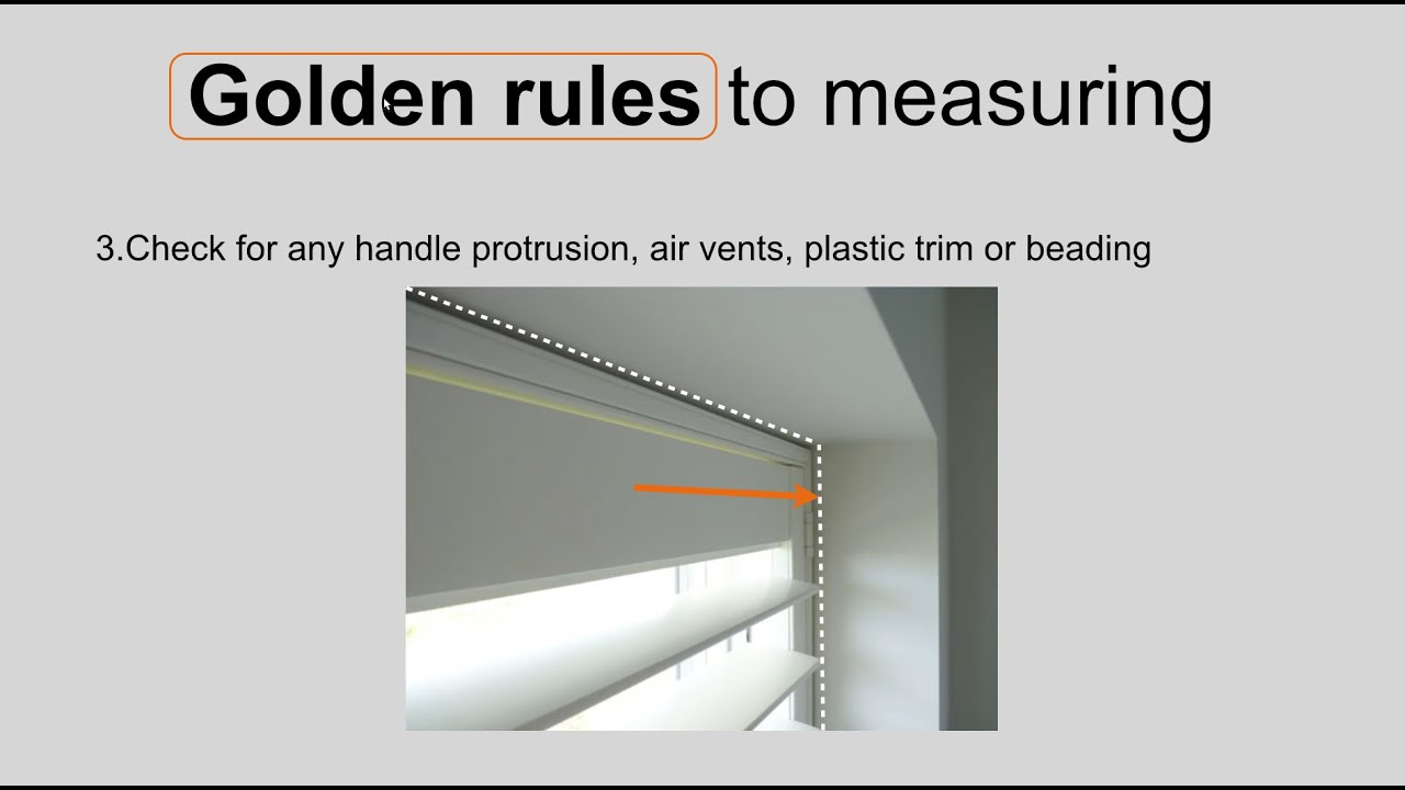 Measuring a window for plantation shutters golden rules - Measure exterior window shutters ...