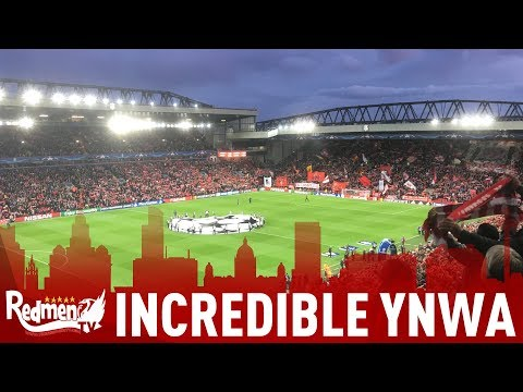 Back in The Champions League! | Liverpool Fans Sing Incredible You'll Never Walk Alone v Sevilla