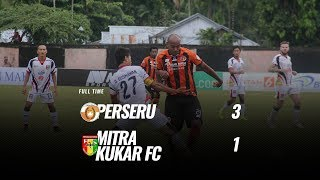 Download Video [Pekan 29] Cuplikan Pertandingan Perseru vs Mitra Kukar FC, 4 November 2018 MP3 3GP MP4