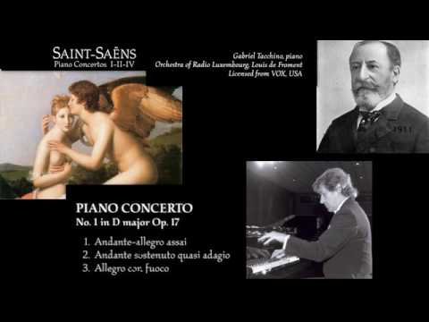Camille Saint Saëns: Piano concerto No. 1 in D Major, Op. 17, Gabriel Tacchino