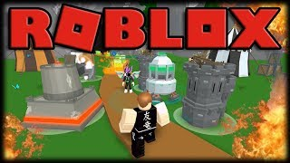 Playing Roblox-TOWERS-building and enhancing crazy towers!!