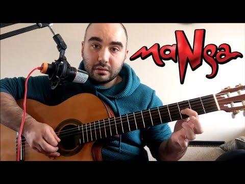 Bir Şarkı Kaç Farklı Çalınır? 😎 MaNga - Dursun Zaman (Gitar Dersi)