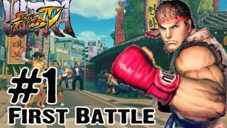 Ultra Street Fighter 4 - Gameplay Multiplayer Part 1 - FIRST BATTLE (Xbox 360, Playstation 3, PC)