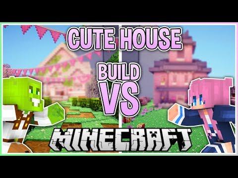 Cute House | Build VS With LDShadowlady