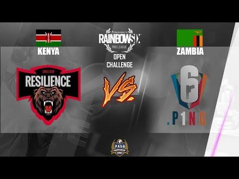 PAGU LiVE   Open Challenge 2018 - Rainbow Six Siege KENYA VS ZAMBIA in LSCon