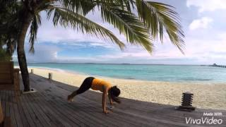 JA Manafaru Beach Exercise Total Body Workout - Maldives Ocean View