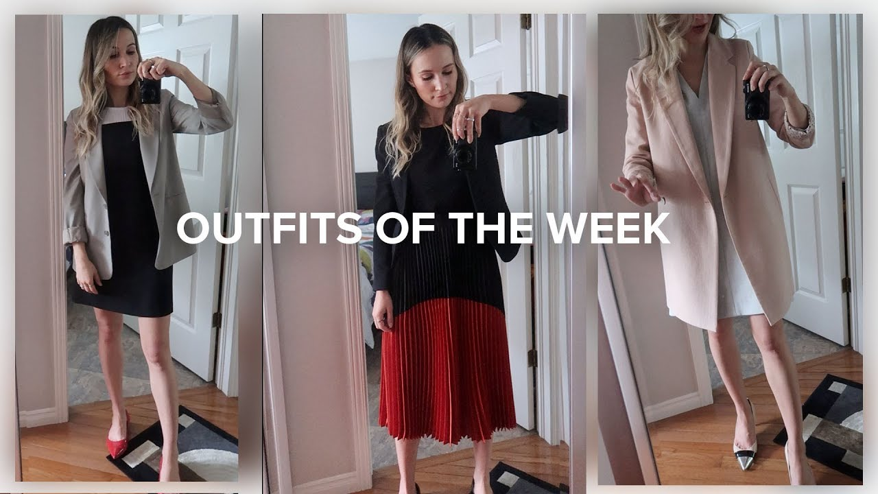 Outfits Of The Week: Spring/Summer Work Outfits | ttsandra