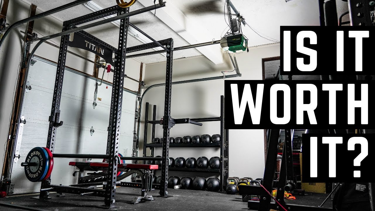 Garage Gym Reviews Titan 1 000 Titan Rack Is It Worth It