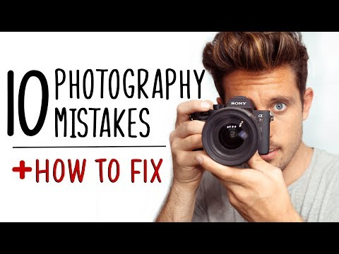 10 Beginner Photography Mistakes + How To Fix