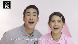 Video [Thai+EngSub] ♫ Nadech Yaya 'Happy Birthday' Channel 3 ♫ | Ch3 SoundOfficial เพลงละครช่อง 3 5/3/16 download MP3, 3GP, MP4, WEBM, AVI, FLV Juni 2018