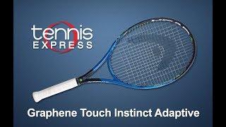 Head Graphene Touch Instinct Adaptive Tennis Racquet | Tennis Express