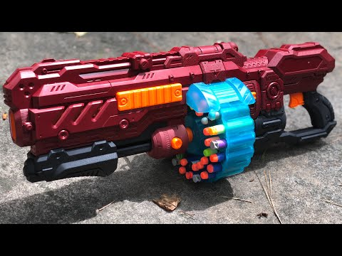 NERF MOD: Drac's EndWar Primary (The Turbo Turbo-Advance)