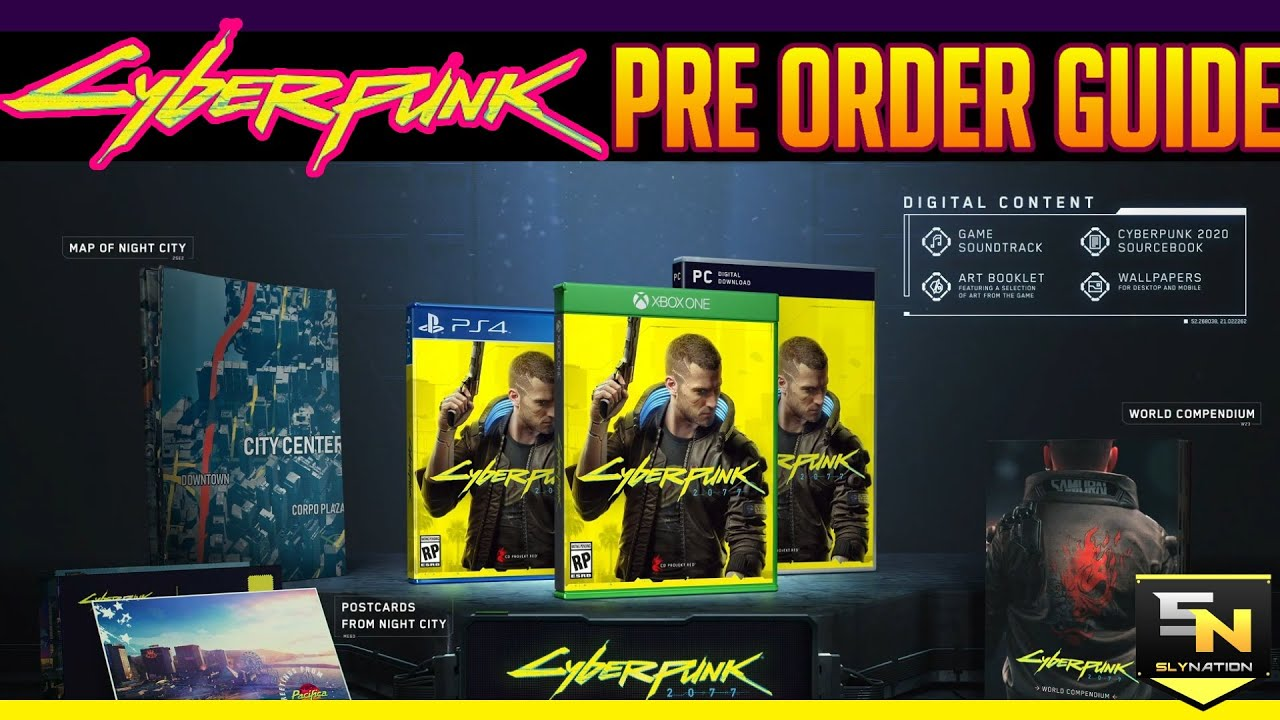 Cyberpunk 2077   Pre Order Guide- Whats the Best Deal ...