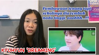 KYUHYUN 'DREAMING' MV | VOCAL COACH REACTION (INDONESIA)