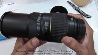 Tamron AF 70-300mm F 4-5 6 Di LD Micro 1 2 Unboxing Review Hindi-