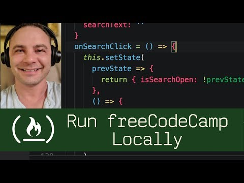Run freeCodeCamp Locally  (P8D2) - Live Coding with Jesse