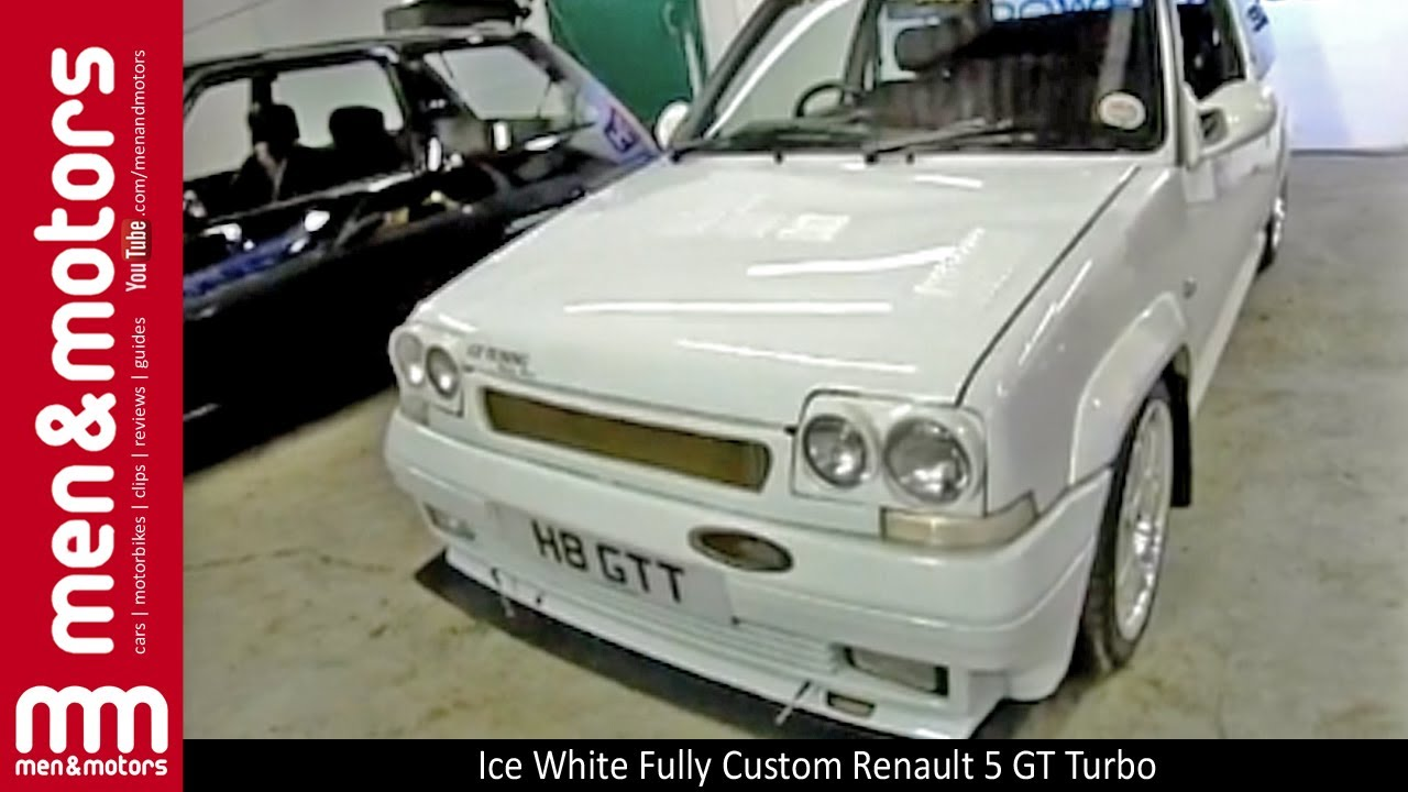 Ice White Fully Custom Renault 5 Gt Turbo Youtube