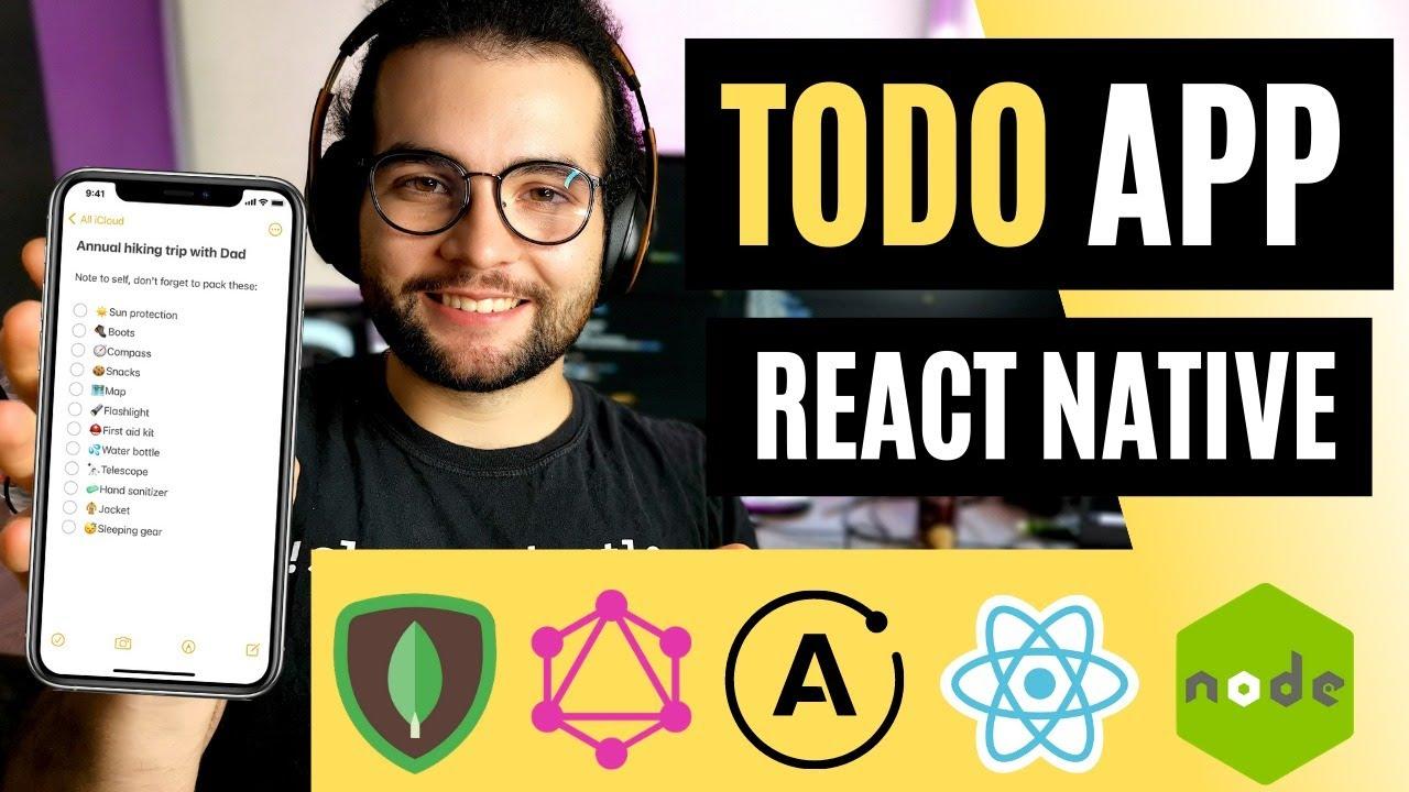 Build a Collaborative ToDo App in React Native (Full-stack MERN Tutorial )