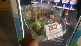 Salads Inside A Vending Machine? - San Antonio Healthy Vending