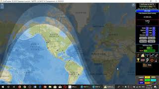 Demonstration WSJT X and Grid Tracker on FT8 mode 14074 Khz Shortwave