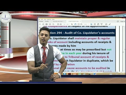 Final Law-Revision| part 5| 80 Sections of Winding up in Just 50 Minutes (For Nov.'18)-Swapnil Patni