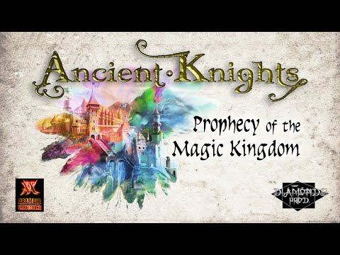 ANCIENT KNIGHTS - Prophecy Of The Magic Kingdom (feat. Elisa C. Martin) - (OFFICIAL LYRIC VIDEO)