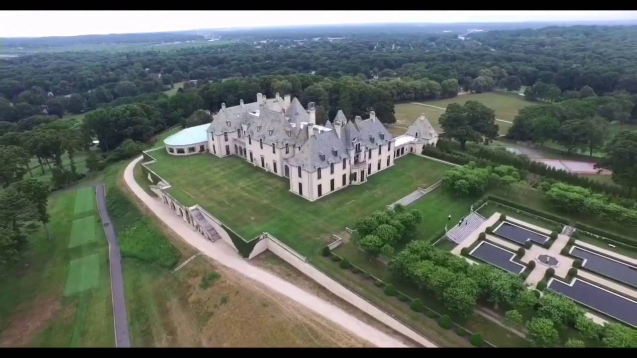 Wedding Drone Video The Bride Arrives At Oheka Castle In Huntington Long Island