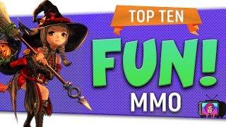 "😃 ""Top Ten Most Fun MMO"" By Skylent - 2018"