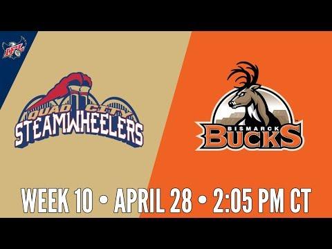 Week 10 | Quad City Steamwheelers at Bismarck Bucks