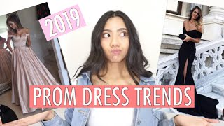 PROM DRESS TRENDS FOR 2019 | My Prom Dress Shopping Experience