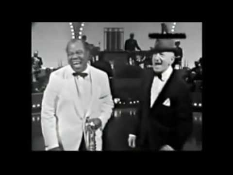 LOUIS ARMSTRONG & JIMMY DURANTE Hollywood Palace Old man time (1965)