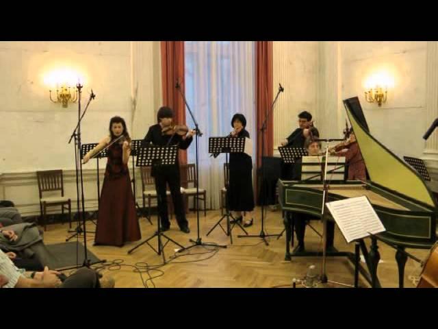 J.S.Bach Violin Concerto a minor BWV 1041 - Márta Ábrahám - Concerto Armonico