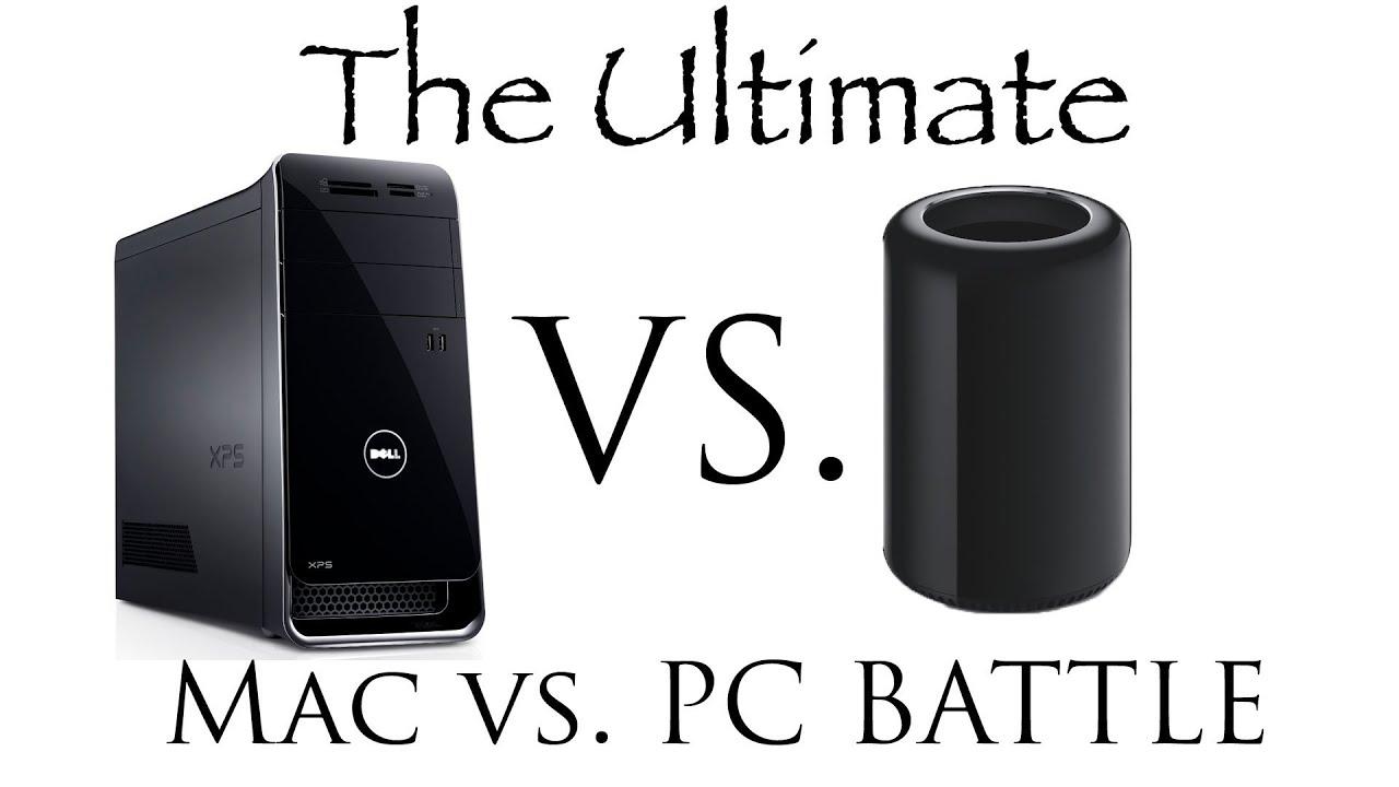 the ultimate battle pc versus mac