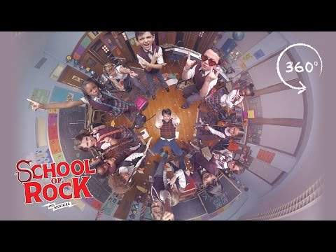 "SCHOOL OF ROCK: The Musical – ""You're in the Band"" 360"