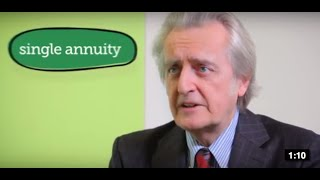A single or joint annuity - The Money Advice Service