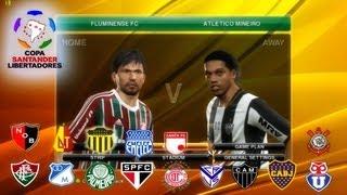 PES 2014 Copa Libertadores - Equipos