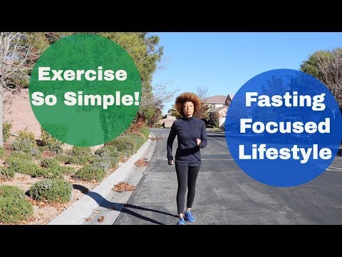 fasting-focused-lifestyle-and-exercise-routine//simple-living