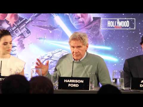 Harrison Ford says he wants nothing to do with Han Solo film (HD) Star Wars: The Force Awakens