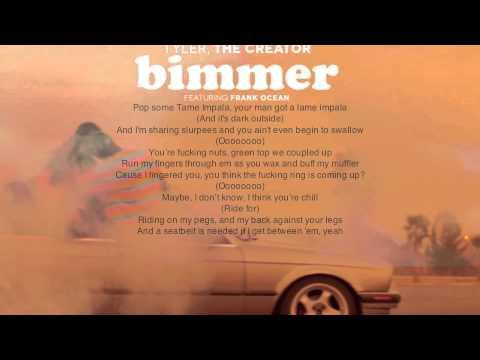 Tyler, The Creator- Bimmer (Lyrics)
