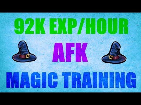 AFK 92K EXP/H Magic Training Guide  Oldschool Runescape 2007 ( OSRS )