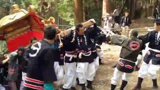 湖国三大祭りの一つ、「山王祭」の幕開けを告げる「神輿上神事」が6日...