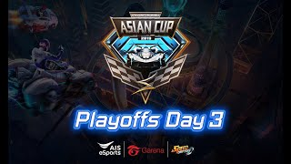 Speed Drifters Asian Cup Playoffs Day 3 : K1mmyy VS RSG.XiaoYu, QG.Minmin VS Moverest