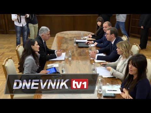 Aleksandar Vučić i Dragan Čović razgovarali u Beogradu
