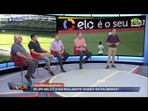 Felipe Melo Fez Toda A Bagunça, Diz Neto