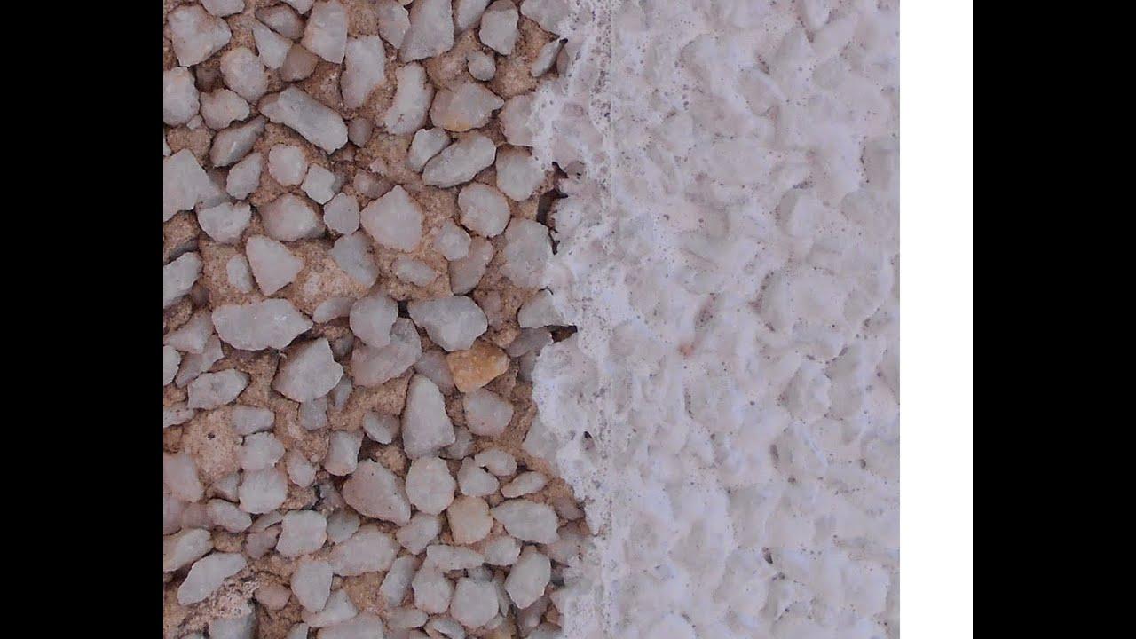 Pintar mortero monocapa piedra proyectada  YouTube