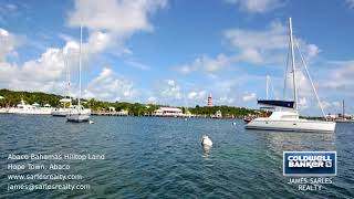 This caribbean hilltop property located in the naturally landlocked harbour of hope town, abaco, has been surveyed and sits on a surrounded by natura...