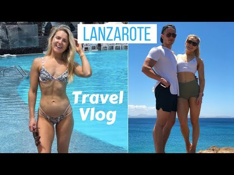Lanzarote Travel Vlog | The Beauty of Online Business | Spa, Sea, Sun, Gym, Food